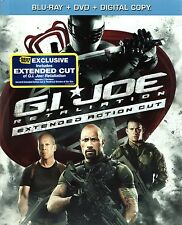 G.I. Joe: Retaliation Blu-ray 3D DVD DC Target + Best Buy Exclusive Extended Cut