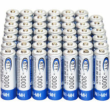 48x AA 3000mAh 1.2 V Ni-MH rechargeable battery BTY cell for MP3 RC Toys Ca
