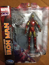 Brand New IRON MAN Disney Store Exclusive Marvel Select Bleeding Edge Figurine *