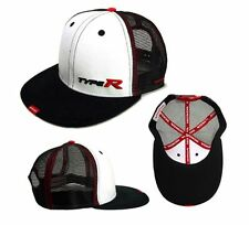 New! Genuine Honda Type R Black / White Flat Peak Baseball Cap (Civic/Integra)
