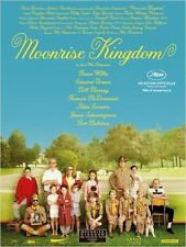 Affiche 40x60cm MOONRISE KINGDOM (2012) Wes Anderson - Bruce Willis, Norton BE