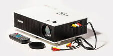 "XElectron HD 120"" 1500 Lumens LED Projector with AV VGA HDMI USB SD TV ports"