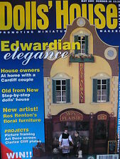 THE DOLLS HOUSE MAGAZINE ISSUE 36 - EDWARDIAN ELEGANCE
