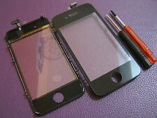 Kit Vetro Touch screen per Apple Iphone 4S x lcd display Nuovo Nero +2 giraviti