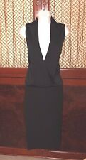 VICTORIA BECKHAM  Black Dress Size 6 US LBD