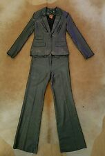 Tory Burch Silver Suit: Jacket and Trousers. S/XS, US 2/4. BNWOT