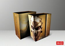 Gladiator Steelbook Ultimate Edition Tripack Hdzeta No3 Blu-Ray New&Seal-500 Onl