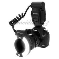 Meike MK-14EXT LED ETTL Macro Ring Flash For Canon 5D II III 6D 7D 60D 70D 700D