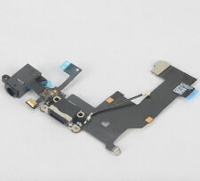 Black FOR iPhone 5 Charging Port Microphone & Headphone Jack Flex Replacement