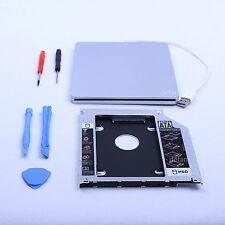 Macbook SSD Kit Pro Mac Second hdd Module Caddy SATA+Superdrive USB Enclosure