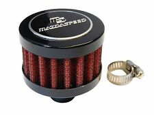 MAZDA JDM 9MM RACING MINI AIR OIL BREATHER FILTER - RED