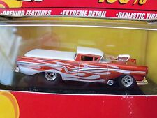 HOT WHEELS 100% - 40TH ANNIVERSARY - (1957) '57 FORD RANCHERO PICKUP - DIECAST