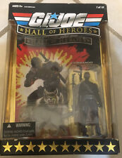 [NEW] Unopened G.I.Joe Hall of Heroes Snake Eyes and Timber the Wolf Figures