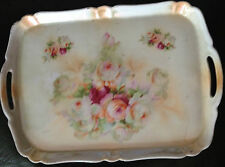 Stunning Vintage French ? Lustre Porcelain Tray Shabby chic Style  EXC!