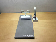 Used - Set of Display & Taco Expositor ARNOLD & SON - Watch Montre Reloj - Usado