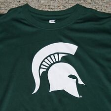 Michigan State University Youth Performance T Shirt 100% Polyester Size M 12-14