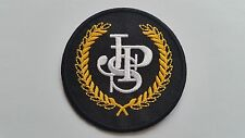 MOTOR RACING CAR SEW ON / IRON ON PATCH:- PATCH No 1087 NAME TO FOLLOW