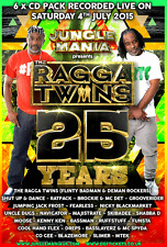 Jungle Mania Presents – Ragga Twins – 25 Years    (25RT6CD)