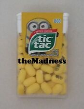New Factory Sealed Limited Edition Despicable Me Minion Tic Tacs - Bob