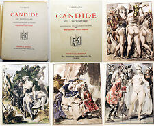 CURIOSA/CANDIDE/VOLTAIRE/ED ROMBALDI/1939/BERTHOMME ST ANDRE ILLUSTRATIONS