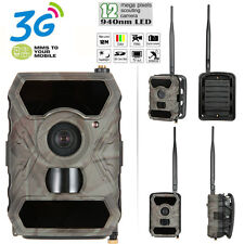 Hunting Camera 12MP 940NM 1080P Scouting Game Trail Cam 3G MMS Wireless S880G