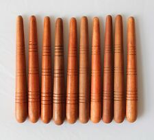 Wholesale x10 Large Thai Massage Stick Wooden Tool Foot Reflexology Thailand
