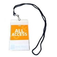All Access Backstage VIP Pass  Badge Holder w/ Lanyard - BackstagePassCombo