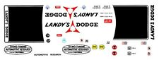 DICK LANDY DYNO TUNING AUTOMOTIVE RESEARCH DODGE 1/43rd Scale Slot Car Decals
