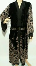 New open front  winter abaya/dress/islamic wear/saudi women dress.size 52.54.56