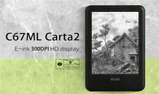 """Onyx Boox C67ML Carta 2 6"""" E Ink Touch Screen, Built-in Light Wi-Fi Android 4"""