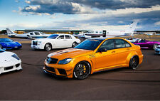 Mercedes Benz W204 C63 AMG Black Series Body Kit