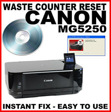 Canon Pixma MG5250  - Fault Reset Disc Service Repair Fix