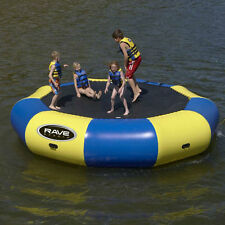 Rave Lake Ocean River Water Sports Bongo 15 Bouncer 15' Trampoline