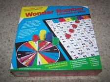 WONDER NUMBER Math Game LEARNING SYSTEM Kindergarten-9th Grade HOMESCHOOL MATH