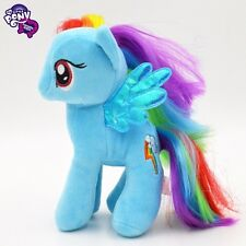 "7""inch My Little Pony Rainbow Dash Stuffed Plushed Toy Doll Kids Xmas Gift SB"