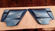 harley davidson FLHRC side covers 2011 cool blue pearl