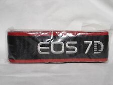 CANON EOS 7D CAMERA NECK STRAP   Black / Red New condition #01262
