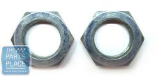 1959-81 GM Cars Radio Flat Nuts - Pair