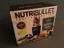 SEALED Magic Bullet NUTRI BULLET Special Edition 5 Piece Box Set NBR-0501K