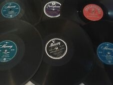 ROCK'N ROLL / POP 78rpm X 6: The Platters,  The Vipers, Buddy Morrow,  Diamonds.