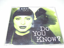 2 BROTHERS ON THE 4TH FLOOR - DO YOU KNOW ? * 4 TRACK CD MAXI HOLLAND 1998 *