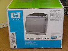 NEW Sealed HP LaserJet 1600 Color Laser Printer