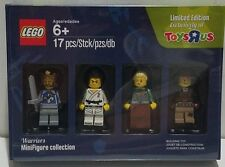 LEGO Toys R Us TRU EXCLUSIVE Limited Edition Warriors Minifigure 4-Pc Collection