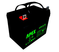 Apex APX12-35 12V 35AH Sealed AGM Mobility Battery