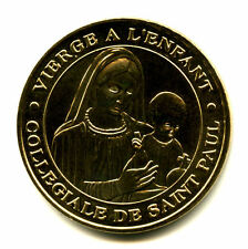 06 SAINT-PAUL-DE-VENCE Vierge à l'enfant, 2005, Monnaie de Paris