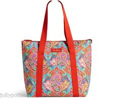 VERA BRADLEY Cooler Tote PAISLEY IN PARADISE Picnic Bag Beach Pool Boat SOLD OUT