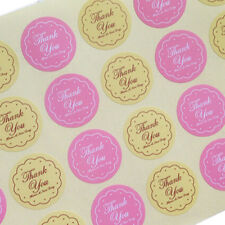 48pcs Thank You Oval Seal Labels, Stickers for Gift Wrap, Envelopes, Bags, Cards