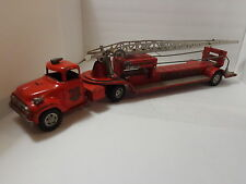 VINTAGE  TONKA  AERIAL  FIRE  TRUCK-1957 - WOW-VERY  NICE ! !