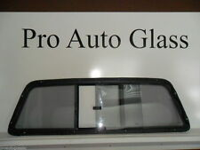 97-04 Ford F150 F250 Rear Sliding back Glass Window gray tinted DK TINT EXTRA