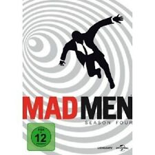 MAD MEN SEASON 4 (4 DVD) NEUWARE JON HAMM,ELISABETH MOSS,VINCENT KARTHEISER
